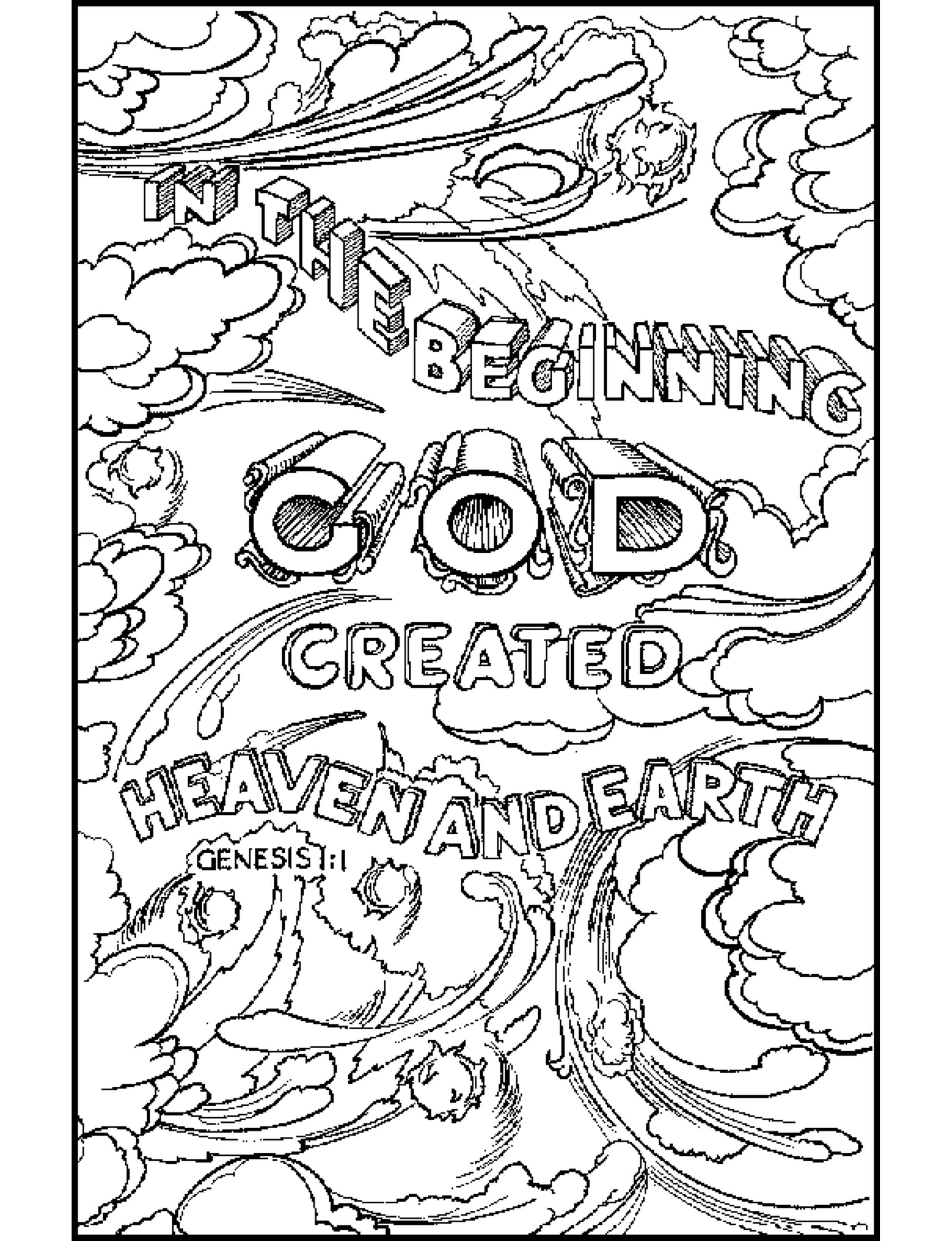 Free bible coloring pages – iconmaker.info